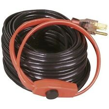 Electric Water Pipe Heat Cable Hose Plastic Metal Pipes Heating Tape Thermostat