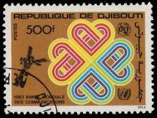 DJIBOUTI 561 (Mi371) - World Communications Year Issue (pf9338)