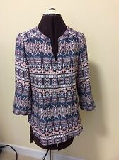 Beautiful Tunic Top By Kim Rogers Size S