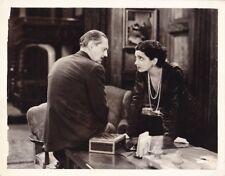 KAY FRANCIS LIONEL BARRYMORE Original Vintage 31 GUILTY HANDS MGM Pre-Code Photo