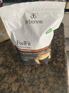 NEW Arbonne Essentials Coffee Protein Powder Shake 2 lb.10.3 oz. Bag