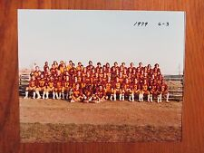 1979  Salisbury State College Football Team 8 x 10  Color Photo/w/REX  BARBOUR)