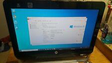 "HP Omni 120 20"" All-in-one PC Windows 10 Desktop Tested model 120-1100Z AMD-E450"