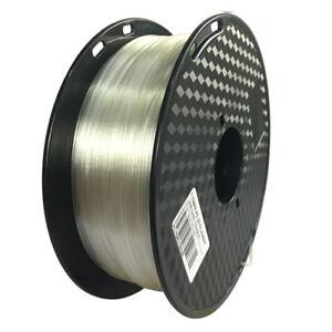 Transparent PC 3D 1.75 printer filament high toughness plump color Polycarbonate