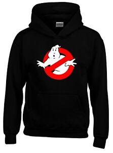 Ghostbusters 1980s Retro Movie Mens Hoodie
