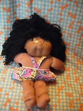 """MATTEL  14"""" APPROX  BLACK BROWN CABBAGE PATCH KID FIRST EDITION"""