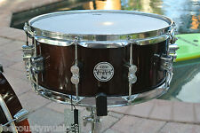 "PDP by DW CONCEPT BIRCH 14"" SNARE in TRANSLUCENT WALNUT for YOUR DRUM SET! #J849"