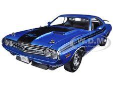 1971 DODGE CHALLENGER HEMI R/T B-5 BLUE 1:18 DIECAST MODEL CAR GREENLIGHT 12961