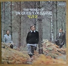 The World of Jacques Louissier Live, Decca Records