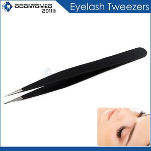 Hair Splinter Tweezers Pointed Ingrown Nose Hair Remove Facial Hair Black