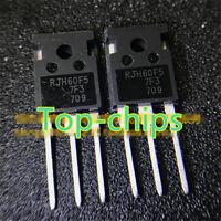 10PCS RJH60F5DPQ  RJH60F5 TO-247 80A 600V Transistor new