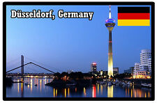 DUSSELDORF, GERMANY - SOUVENIR NOVELTY FRIDGE MAGNET - BRAND NEW - GIFT