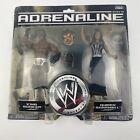 WWE WWF Wrestling Jakks Series 26 Adrenaline KING BOOKER & QUEEN SHARMELL (MOC)