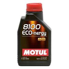 MOTUL OLIO 8100 ECO NERGY 0W30 100% SINTETICO A5 B5 VOLVO 1 LITRO VCC 95200377
