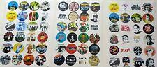 More details for 72 punk stickers - all 3 sets! clash, jam, pistols, devo, spex, buzzcocks, more!