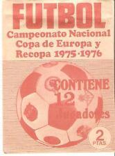 RUIZ ROMERO 1975/76: SOBRE SIN ABRIR