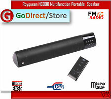 Royqueen H3000 Multifunction portable mini Speaker for iPhone & Samsung Galaxy