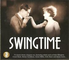 SWINGTIME - 3 CD BOX SET - DUKE ELLINGTON, GLENN MILLER & MANY MORE