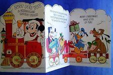 "Walt Disney Greeting Card ""A Christmas Money Train"" Hallmark, not used."
