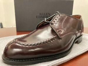 Allen Edmonds Bradley Burgundy Shell Cordovan Dress Shoes  US 10.5 3E Wide