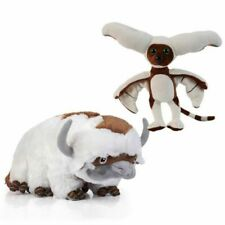"""The Last Airbender Resource 16"""" Appa Avatar or 11"""" Momo Stuffed Plush Doll Toy"""