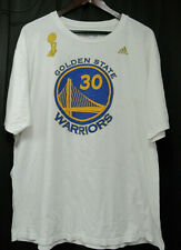 Adidas Go To Tee Golden State Warriors NBA Mens White Curry 30 T-Shirt Size 2XL