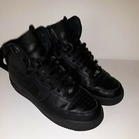 Nike Air Force 1 High Tops  Men's Size 8, Triple Black 315121-032