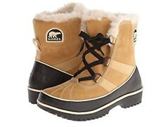 NIB WOMENS Sorel Tivoli II Suede Boots Curry Waterproof sz 11 Casual Light Snow