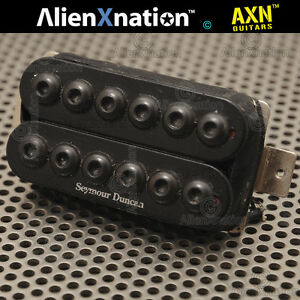 1980s Seymour Duncan Invader short lead yet great HOT vintage 80s tone