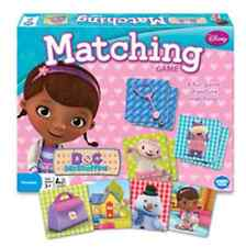Sealed DISNEY Doc McStuffins Matching Game Learning Kids PRESCHOOL 3+