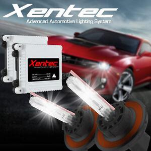 XENTEC Slim HID Kit Xenon Headlight Conversion Light Bulbs Ballasts Hi/Low Fog