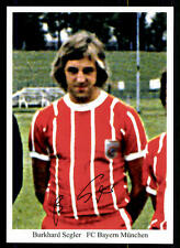 Burkhard Segler Autogrammkarte Bayern München Spieler 70er Jahre Original Sign