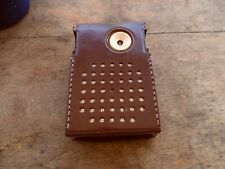 Vintage Nobility 6 Transistor Radio AM With Leather Case Model 6000