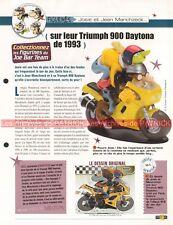 TRIUMPH 900 Daytona 1993 Joe Bar Team Fiche Moto #007724