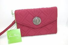 NWT Vera Bradley Your Turn Smartphone Wristlet in Raisin