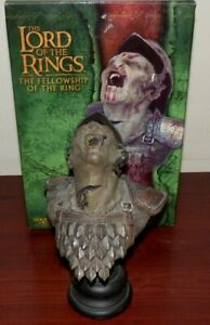 Lord of the Rings Cleaved Orc figure BOXED SIDESHOW WETA