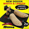 Shoe Stretchers Trees x2 Women + Mens Width Wooden Shaper Bunion Blister Corn UK