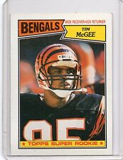 1987 Topps 'Super Rookie' #190 - TIM McGEE - Rookie Card