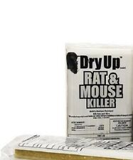 TWO 1 LB.Dry Up Rat and Mouse Killer Bars ( RAT MOUSE BAIT POISON)