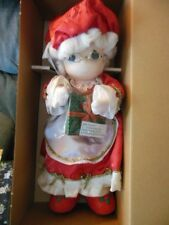 """Precious Moments Doll - """"Mrs. Claus"""", New, 17"""" tall, 2370 of the 15000 made"""