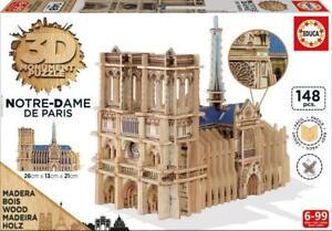 Educa 3D Monument Puzzle Notre Dame De Paris 148 pc