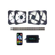 APEVIA FR412L2S-RGB Frostblade 120mm Silent Addressable RGB Color Changing LED