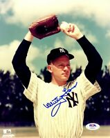 Whitey Ford autographed signed 8x10 photo MLB New York Yankees PSA COA WS Champ
