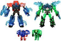 Takara Tomy Transformers TAV45 Optimus Prime & Grimlock Supreme Armor Sets