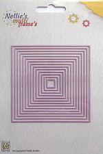 Nellie Snellen multi Frame Dies- Straight Square- craft, card making, MFD056