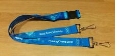 Official 2018 PyeongChang Winter Olympic Games Lanyard Genuine & Brand New