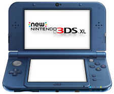 The *NEW* 2014 Nintendo 3DS XL Console Metallic Blue PAL / C Stick + Warranty!!