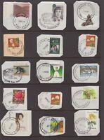 Tasmania decimal postmark selection on piece all start with R