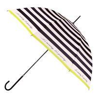 Totes Ladies Elegant Charcoal Cream Umbrella 9716TBS Brand New
