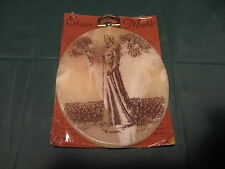 """Vintage LDS Mormon """"Elegance In Marble"""" """"WOMAN"""" Etched Wall Plaque Collectable"""